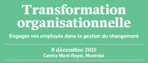 conférence transformation organisationnelle