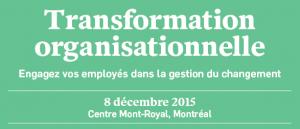 conférence transformation organisationnelle